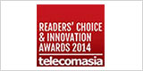 Reader's Choice and Innovation Awards 2014-Telecomasia